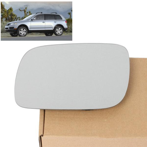 Left Heated Door Wing Mirror Glass Fit For VW Touareg 2003-2006 High Quality