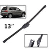 "13"" Rear Wiper Blade For VW Tiguan MK1 2007 - 2016 2017 Windshield Windscreen Rear Window"
