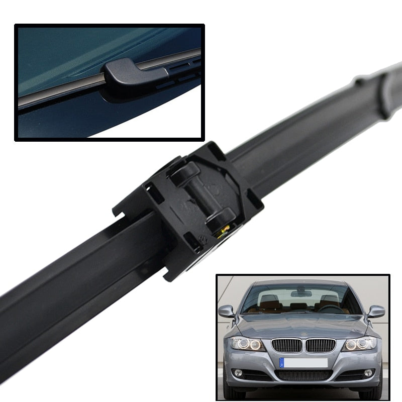 Front Wiper Blades For BMW 3 Series E90 E91 323i 325i 328i 335i 328xi 2005 - 2009