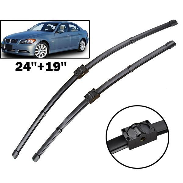 Front Windscreen Windshield Wiper Blades For BMW 3 Series E90 E91 323i 325i 328i 335i 328xi 2005 - 2009