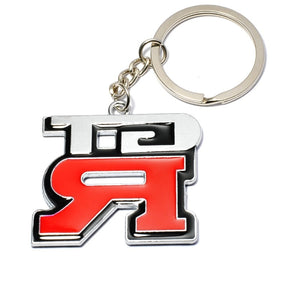 Fashion Metal 3D GTR Key Ring Chain Keychain for Nissan GTR Skyline