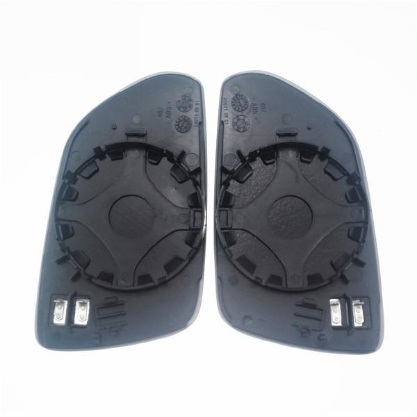 1 PAIR x Side Mirror Glass Heated VW POLO 2001-2009, SKODA OCTAVIA 2004-2012