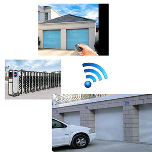 *DEAL* 2PC x WiFi Garage Door Opener Compatible with IOS, Android, Works with Alexa