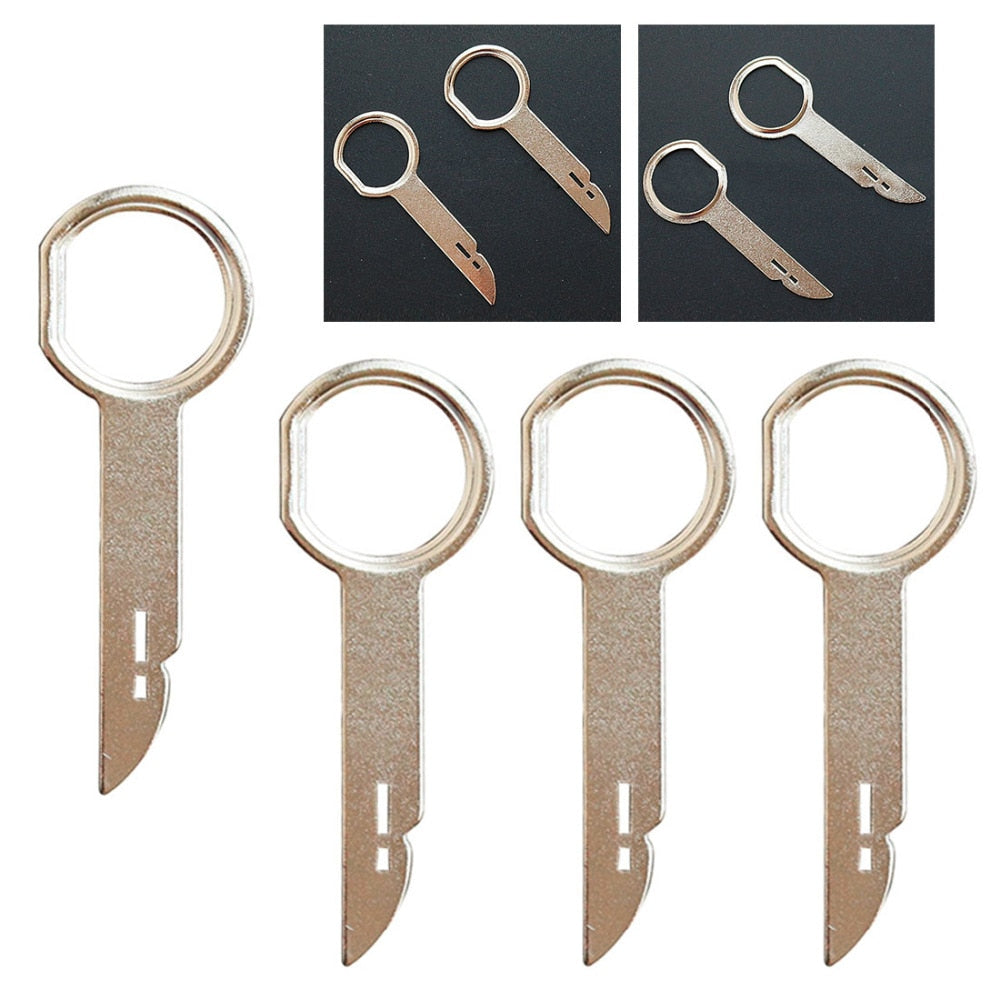 4 pcs Car Stereo Radio Removal Tool Keys For Audi For Ford For Volkswagen