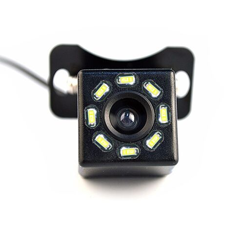 Car Rear View Camera 4 LED Night Vision Reversing Auto Parking Monitor CCD Waterproof 170 Degree HD Video