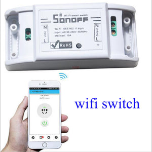 3PC x IOS Android Smart Wifi Wireless Remote Switch - Home Controller Works with Alexa