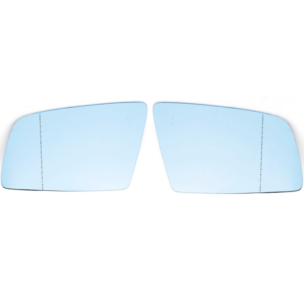 1 Pair L+R Side Wing Mirror Glass For BMW 5 E60 E61 2004 2005 2006 2007 2008