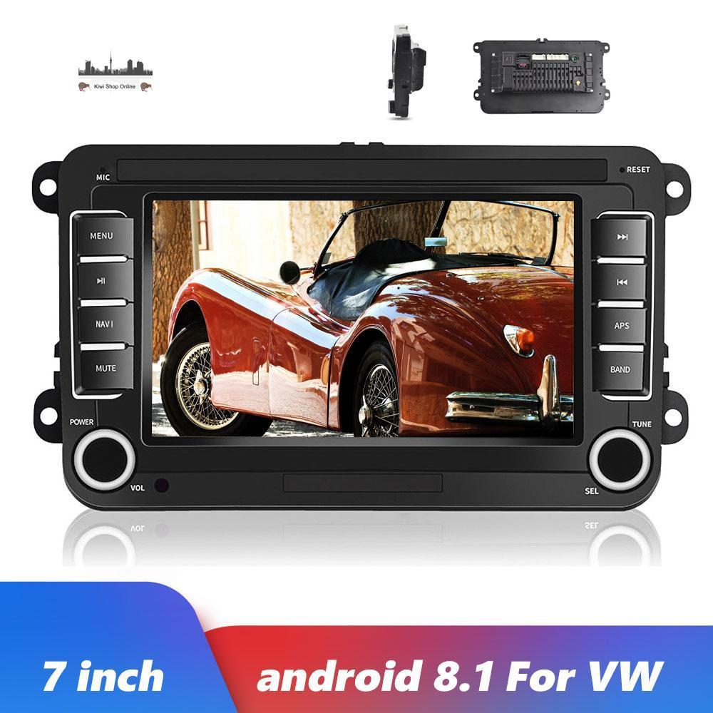 2DIN Car Audio GPS Android 8.1 7'' Car MP5 Multimedia Video Player Car Radio Auto Radio Stereo Audio For VW/Skoda/Passat/Golf/Polo