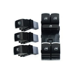 Window Control Switch Button Set For Volkswagen VW Golf MK5 6