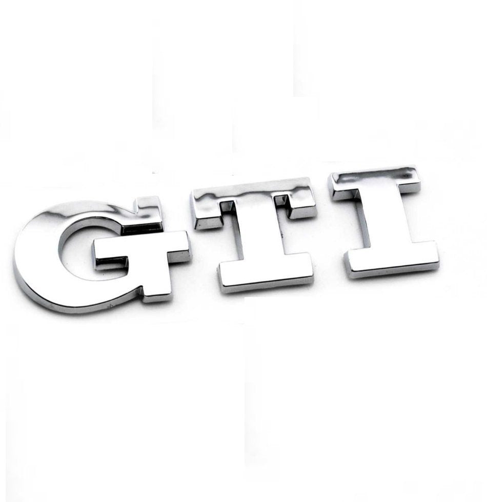 GTI Emblem Golf Sticker for Golf Polo MK GTI Rear Boot Trunk Car Badge MK5, MK6, MK7