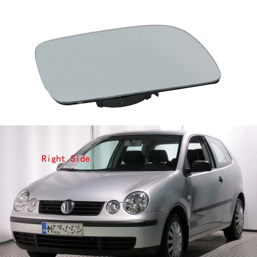 Right Side Car Mirror Glass For VW Polo 2002 2003 2004 2005 Heated Wing Side Mirror Glass Volkswagen