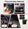 VW Android 8.1 Double DIN Head Unit for Volkswagen, Skoda Bluetooth, Radio, Video Player