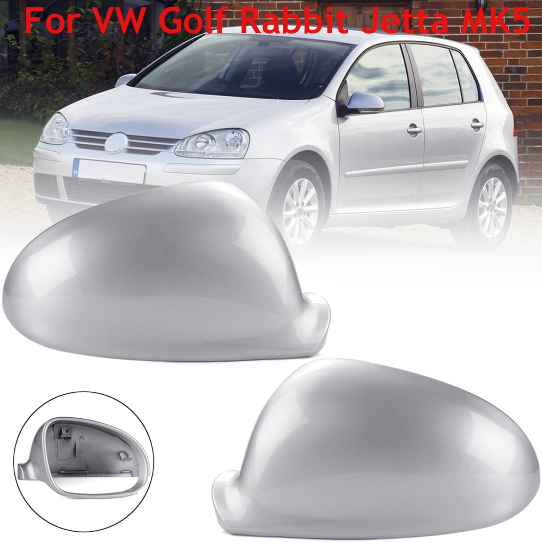 (RIGHT) Rearview Side Wing Mirror Cover For VW Golf Jetta MK5 2006 2007 2008 2009