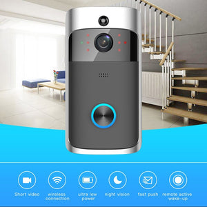 * SPECIAL * WI-FI Video Door Bell CCTV Doorbell IR Alarm Wireless Security Camera Doorbell