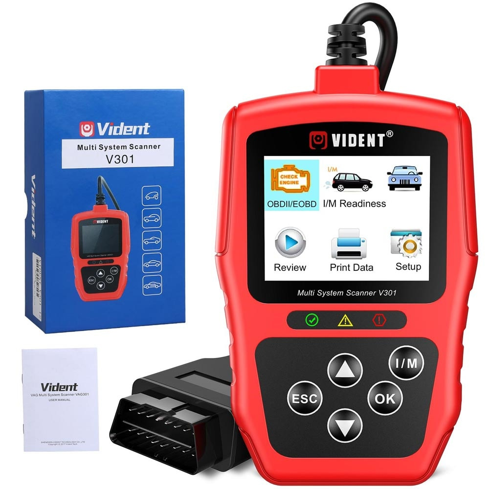 Full System OBD2 Scanner For VW Audi Skoda Seat Car Diagnostic Tool with SAS EPB DPF Oil Battery Reset