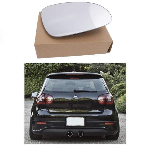 Volkswagen Golf MK5 RIGHT Side Clip on Mirror Glass