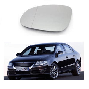 Volkswagen PASSAT LEFT Side Clip on Mirror Glass