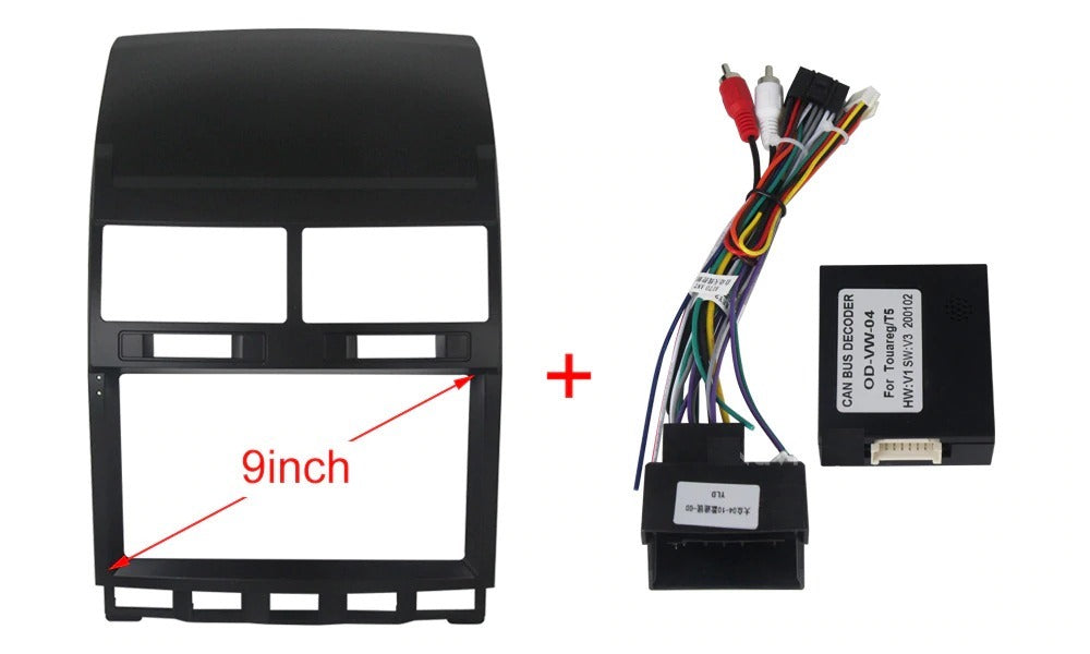 Android DSP IPS 1G RAM 16G ROM For VW Touareg Multivan T5 (2002-2010) Car radio multimedia player wifi