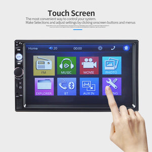 **SPECIAL** Car Stereo Double DIN Head Unit with Rear View Camera, Bluetooth