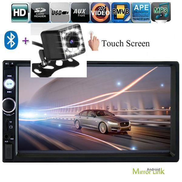 **SPECIAL!** Car Stereo Double DIN Head Unit with NZ MAP, Rear View Camera 8 IR, Bluetooth