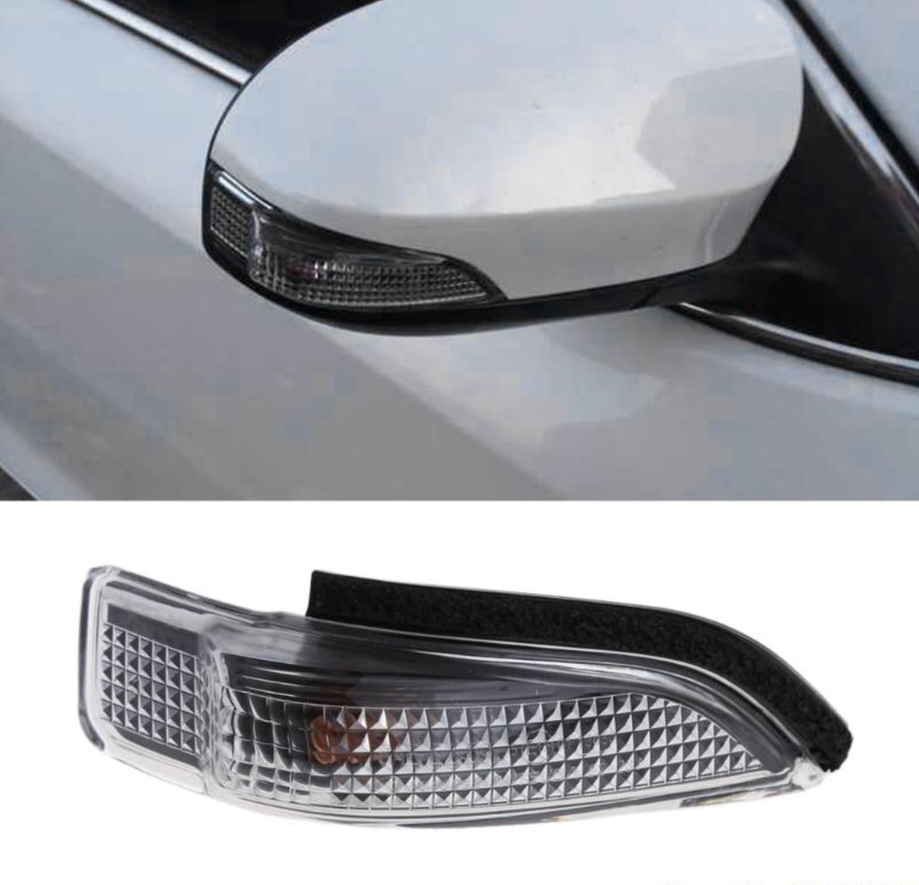 Right Side Mirror Indicator Turn Signal Light Compatible with Toyota Camry Avalon Corolla RAV4 Prius Aurion