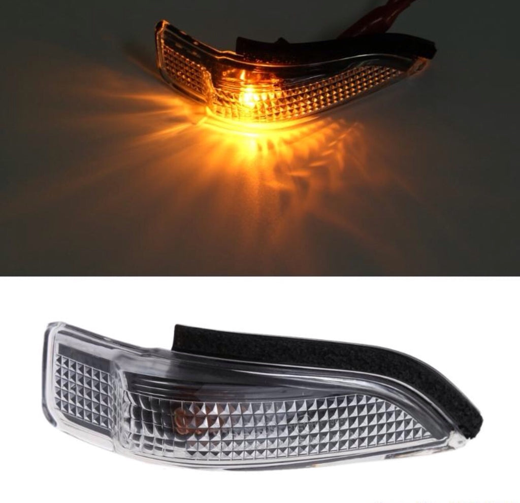 2Pin Right Side Mirror Indicator Turn Signal Light For Toyota Camry Avalon Corolla RAV4 Prius