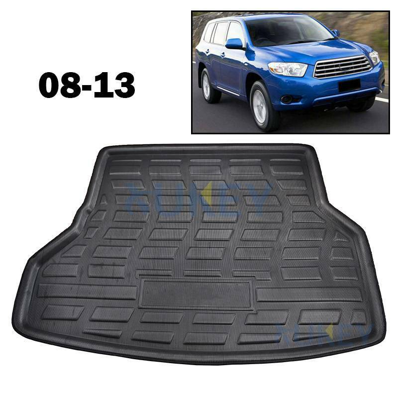 For Toyota Highlander Kluger 08-13 Cargo Liner Boot Tray Trunk Floor Mat Carpet