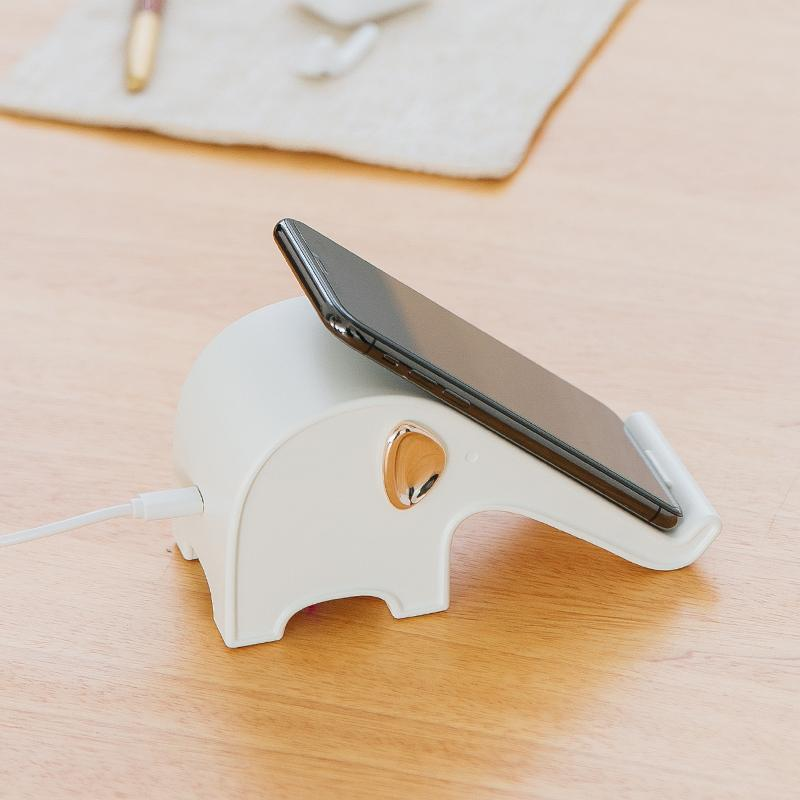 Today 70% OFF - Elephant QI Wireless Charger Base