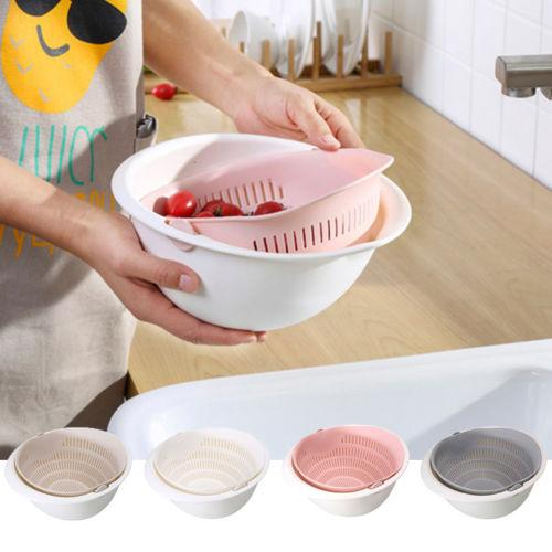 Wash and Drain Bowl Drain Filter Basket