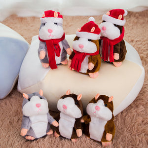 【Last Day Promotion - 50%- OFF】Little Talking Hamster