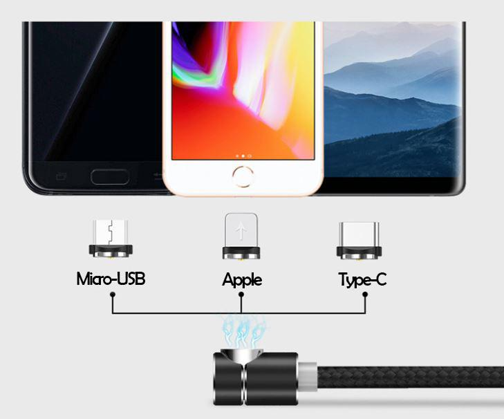 (HOT SALE)360° Magnetic Charging Cable