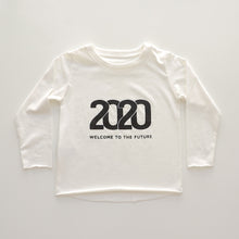 Load image into Gallery viewer, WHITE 2020 YEAR TEE