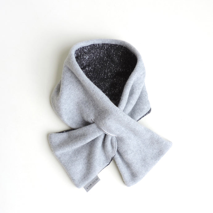 GREY NECK WARMER
