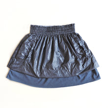 Load image into Gallery viewer, DENIM NYLON SKIRT