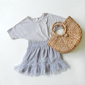 ELBA GREY DRESS