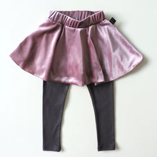 Load image into Gallery viewer, PINK VELVET LEGGINGS SKIRT