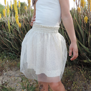 MILA ABC TULLE DRESS
