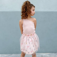 Load image into Gallery viewer, MILA FLAMINGO TULLE DRESS