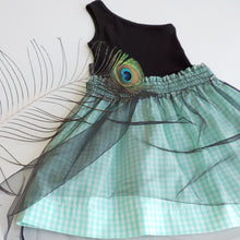 Load image into Gallery viewer, MILA VICHY TULLE DRESS