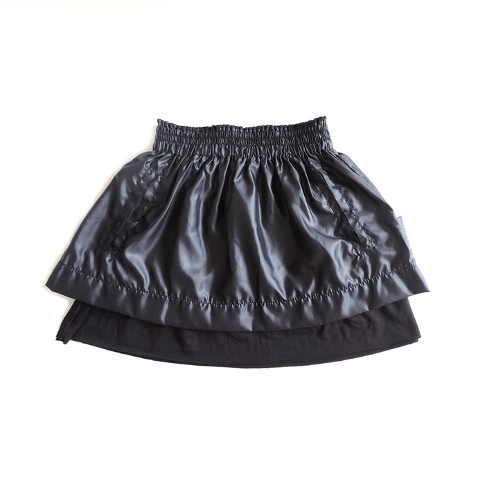 DOUBLE LAYER SKIRT MATTE