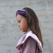 Load image into Gallery viewer, PURLE VELVET HEADBAND