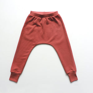 RUST ONE POCKET PANTS