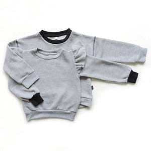 SET OF 2 GREY SWEATSHIRTS