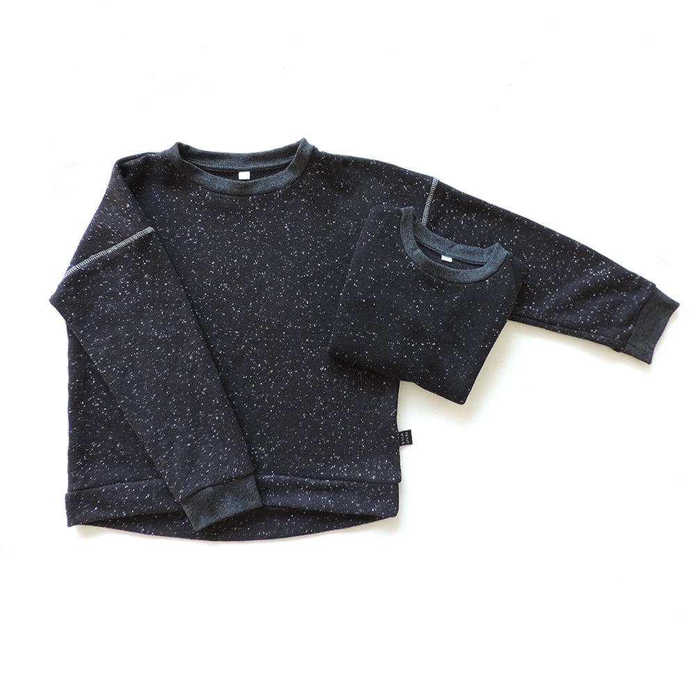 SET OF 2 SPACE SWEATSHIRTS