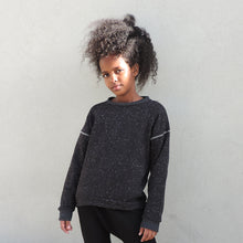 Load image into Gallery viewer, BLACK SPACE SWEATSHIRT