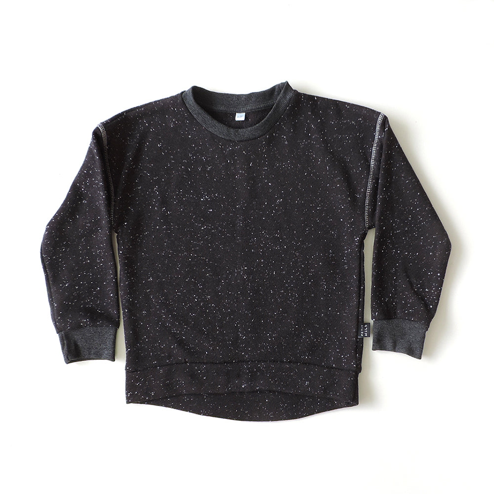 BLACK SPACE SWEATSHIRT