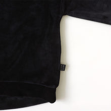 Load image into Gallery viewer, BLACK VELVET SWEATSHIRT