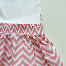 Load image into Gallery viewer, ZIG ZAG PINK DRESS
