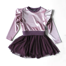 Load image into Gallery viewer, ZOE PINK VELVET DRESS