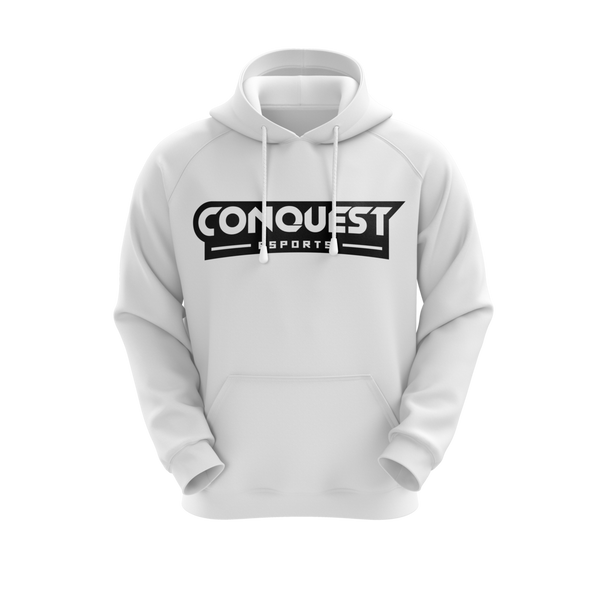 Conquest White Hoodie